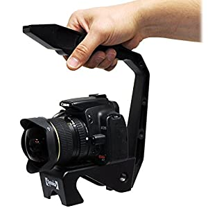 Opteka X-GRIP EX MK III Extreme Heavy Duty Steel Action Stabilizing Video Handle for Digital SLR Cameras and Camcorders