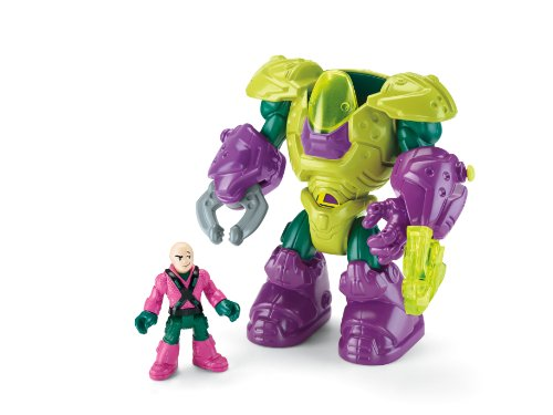 Fisher-Price Imaginext DC Super Friends, Lex Luthor Mech Suit - http://coolthings.us