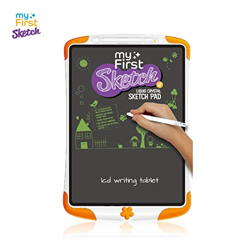 LCD Writing Tablet for Kids -myFirst Children Digital Sketch Pad Paperless Handwriting Drawing Board Electronic Doodle eWriter with Pencil Set for Girls Boys 12 Inch Graphic Tablets Memo Notepad