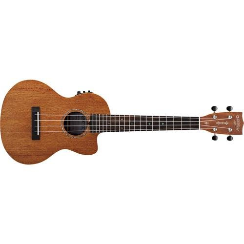 Gretsch Solid Guitar (Gretsch G9121 Tenor A.C.E Acoustic-Electric Ukulele with Gig Bag - Honey Mahogany Stain)