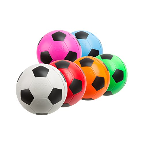POOF 7.5-Inch Foam Soccer Ball,Assorted pack of one