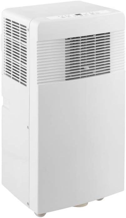 PAC 2 Aire acondicionado portátil 2,6 kW (Bajo consumo clase A, función ventilador, modo secado, temporizador, refrigerador, mando a distancia, ruedas transporte ...