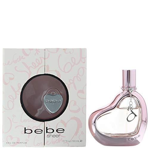 Sheer 1.7 Ounce Spray - Sheer by Bebe for Women, Eau de Parfum Spray, 1.7 Ounce