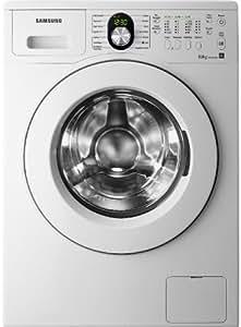 Samsung WF1802LSW - Lavadora (Independiente, Color blanco, Frente, 8 kg, 1200 RPM, A)