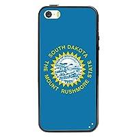 Cellet Proguard Case with South Dakota Flag Design Case for Apple iPhone 5  - White