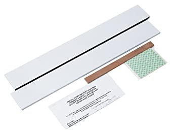 Kimberly-Clark Professional 10222 Stainless Steel Both Left And Right Side Filler Panels for Center Mounted Recessed Dispenser
