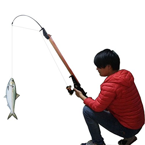 Smart Kingfisher Slingshot Fish Gun Speargun for Fishing, Hunting Spear Gun Multipurpose Shooting Support Arrow Ammo Equipted with Reel Sight Scope by Smart Kingfisher (Image #6)