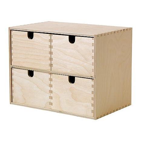 Ikea Moppe - Mini cassettiera, compensato di betulla - 29 x 18 x 22 ...