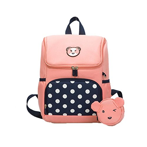 4d781a429626 Amazon.com: Weite Kids Backpack,Cute Cartoon Bear and Lively Wave ...