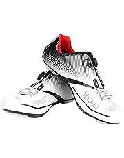 Dioche Zapatillas de Ciclismo para Hombre, Sistema de Bloqueo Antideslizante Antideslizante para Ciclismo de Carretera para Adultos, para Ciclistas