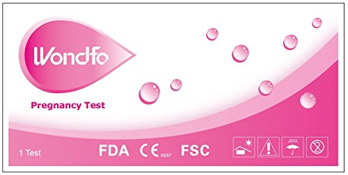 Wondfo HCG Pregnancy Test Strips-10 Count