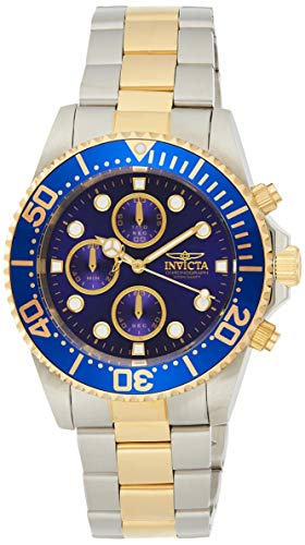 Invicta Men's Quartz Watch, Chronograph Display and Stainless Steel Strap 1773