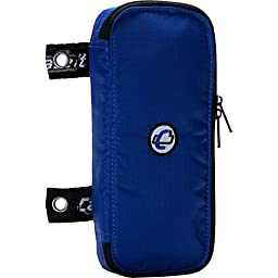 Case-it The Pouch Zippered Pencil Case with Grommets, Blue, PLP-02-BLU