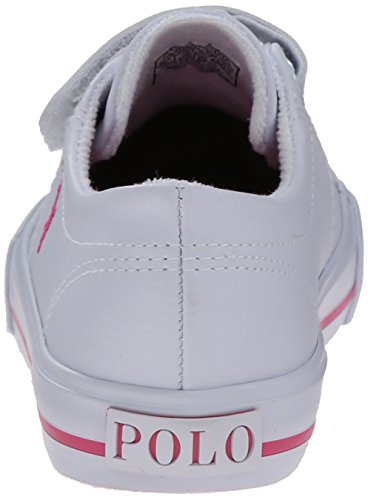 Ralph Kids Sneaker Player Pony Lauren White Polo EZ Scholar Pink dxfOdwP