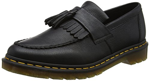 Dr. Martens Damen Adrian Black Virginia Slipper Schwarz (Black)