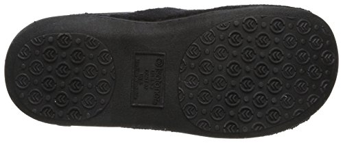 Black Classic Hoodback Women's Isotoner Slippers Microterry w4q7xfUF