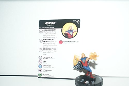 Heroclix Avengers Infinity Set Quasar #037 Super Rare for sale  Delivered anywhere in USA