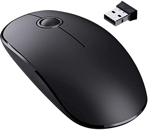 VicTsing 2.4G Slim Wireless Mouse with Nano