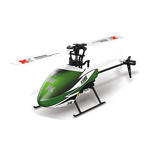 (Visdron K100 6CH 3D 6G System RTF RC Remote Control Helicopter Built-in Gyro Super Stable Flight Plane)