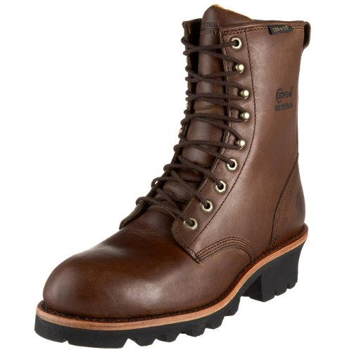 "Chippewa Men's 26379 8"" Logger Waterproof Boot,Bay Apache..."