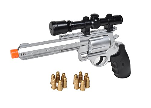 Maxx Action Toy Hunting Pistol with Scope and Working Electronic Lights and Sounds
