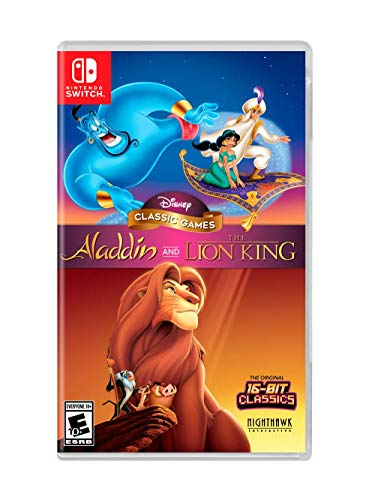 Disney Classic Games: Aladdin and the Lion King - Nintendo Switch (Best Snes Adventure Games)