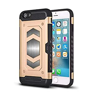 RaG&SaK Water Proof Magnetic Mount armour Case for Iphone 6- Gold