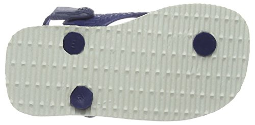 Havaianas Gemusterte Zehentrenner Baby Pets Mehrfarbig (white/navy Blue 0052)