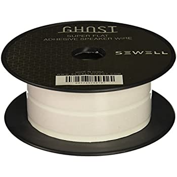 Amazon.com: Sewell Ghost Wire, Super Flat Adhesive Speaker Wire, 16 ...