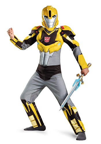 Bumblebee Animated Classic Muscle Costume, Small (4-6)