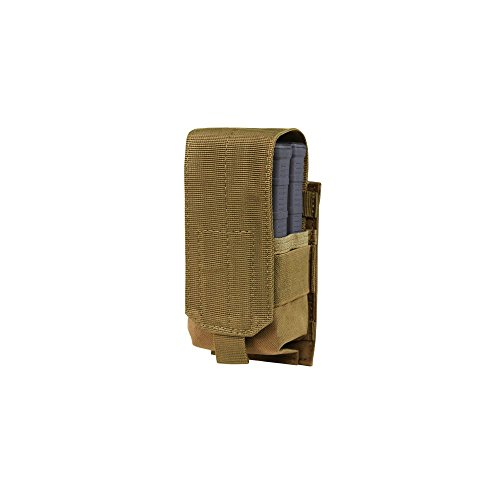 Condor Tactical Single M14 Mag Pouch - Brown (M14 Mag Pouches)