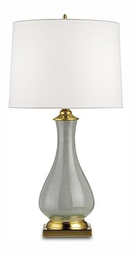 Amazon.com: Lynton – Lámpara de mesa, color gris: Home ...