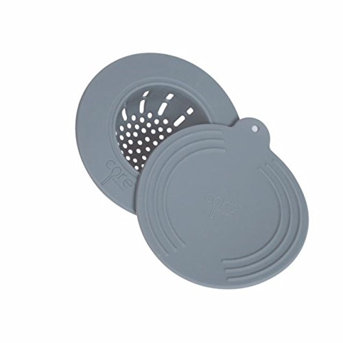 (Core Kitchen Clean Solutions In-Sink Silicone Drain Strainer with Lid -)
