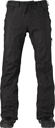 Analog Remer Snowboard Pant - Men's Raw Black Denim -