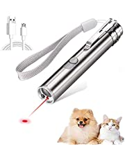 Cat/Dog Laser Pointer Toy - Rechargeable Interactive Pet Training Exercise Toy
