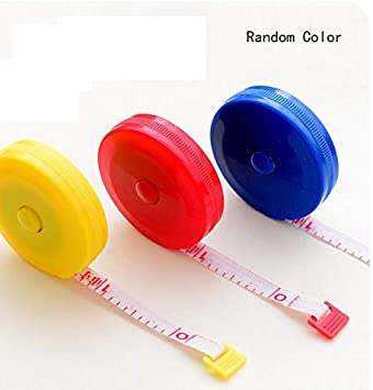 Tape Measure Sewing 60-inch 1.5 Meter Soft Retractable Measuring Tape for Weight Loss Medical Body Pocket,Body Tailor.