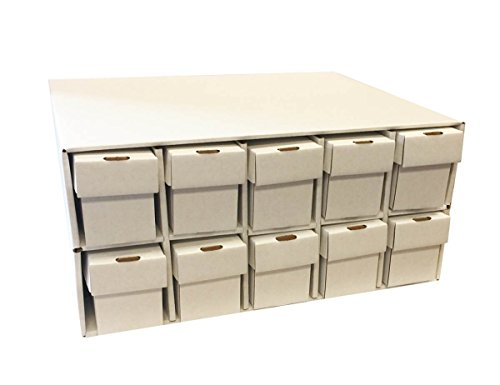 (Card Penthouse House Storage Box - with 10 800-Count Vertical Storage)