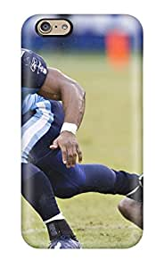 Premium MMioqOr6343TsQXP Case With Scratch-resistant/ Tennessee Titans Case Cover For Iphone 6
