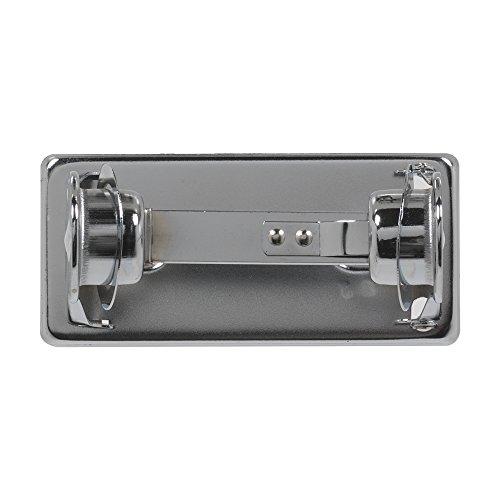 (1-Roll Open Self-Locking Standard Bathroom Tissue Dispenser by GP PRO (Georgia-Pacific), Chrome, 57220/01,6.000