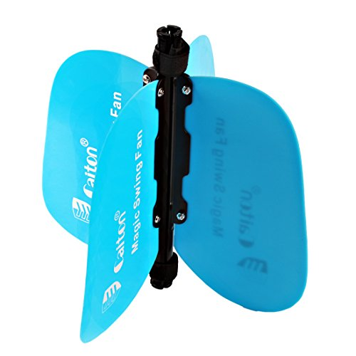 Andux Golf Magic Swing Fan Portable Blue XF-01