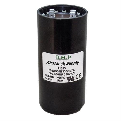 PACK 5 53-64 uF x 220 250 VAC BMI # 092A053B250AC1A Motor Start Capacitor