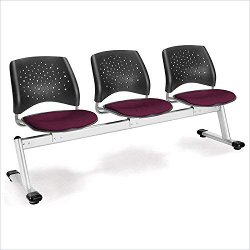 - OFM 323-2211 Stars 3-Unit Beam Seating with 3 Seats