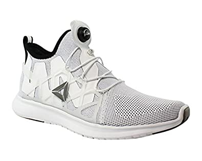 3a4edf553c5d39 Image Unavailable. Image not available for. Color  Reebok Pump Plus Cage  White Black Running