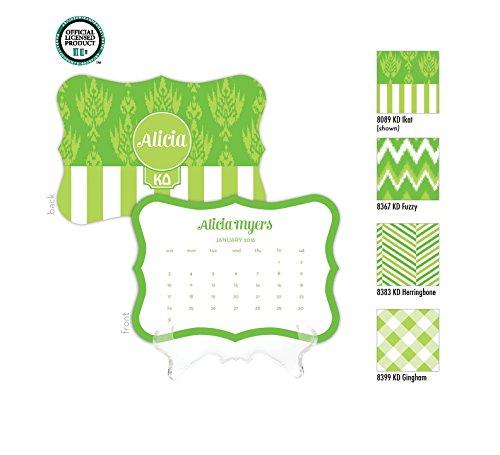 Kappa Delta Personalized Desk Calendar / 2017 Calendar / Personalized Calendar / Monogrammed Desk Calendar / KD Big Little / Rush Gift, 2016 Calendar, Sorority Calendar - Kappa Alpha Theta Lilly Pulitzer