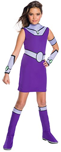 Child Movie Star Halloween Costume (Teen Titans Go Movie Costume Deluxe Starfire ,)