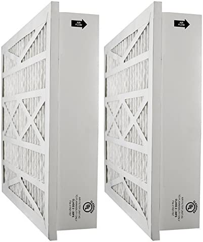 Tier1 20x25x5 Merv 11 Replacement for Amana AC Furnace Air Filter 2 Pack