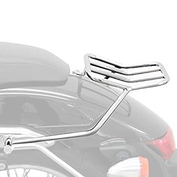 Parrilla trasera Fehling rear rack Honda Shadow 750 Black ...