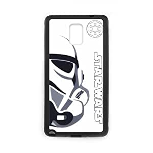 Star Wars Storm Trooper White Hard Hard Case Samsung Galaxy note 4 Case Cover (Laser Technology)