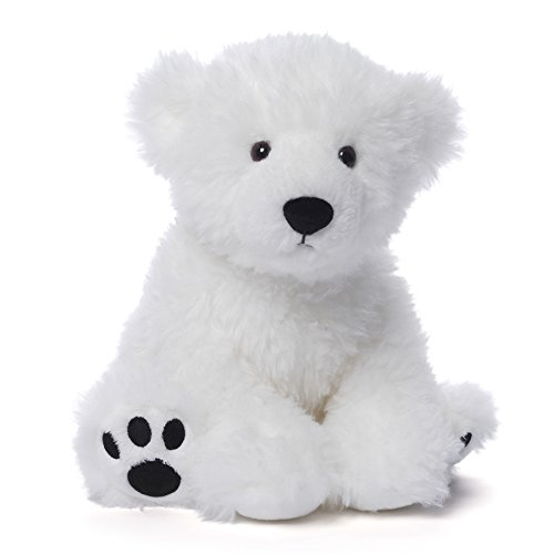 GUND Fresco Polar Teddy Bear Stuffed Animal Plush, White, 10