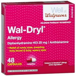 wal dryl capsules